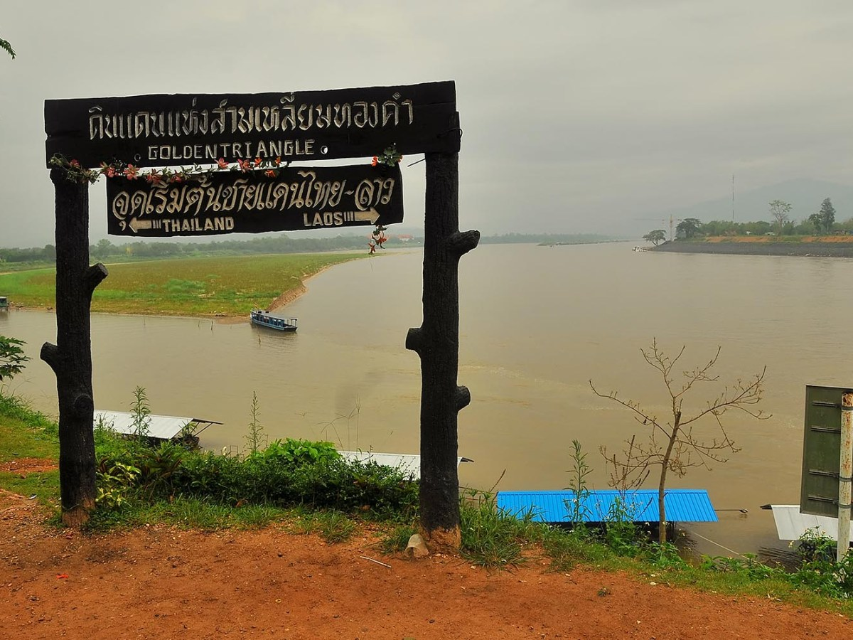The Golden Triangle is an area of about 950,000 square  kilometers that overlaps the mountains of Laos, Myanmar and Thailand. Large quantities of methamphetamine are produced here along with opium grown in poor parts of Shan State, which is turned into heroin and smuggled to countries throughout the region. Photo: iStock