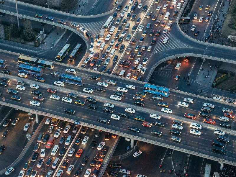Crowded Traffic. Photo: iStock