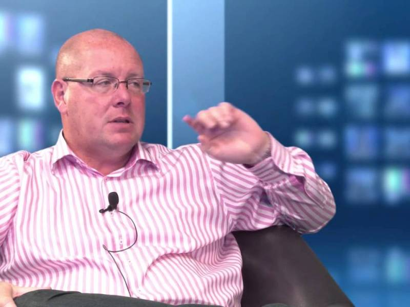 Nick Leeson is back. Photo, YouTube