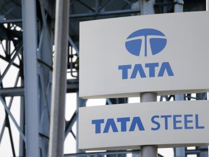 The Tata Steel logo. Photo: Reuters