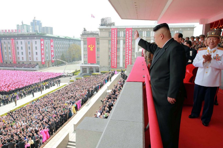 Photo: KCNA via AFP