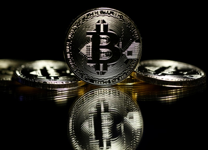 Illustrations of Bitcoins. Photo: Reuters/Dado Ruvic
