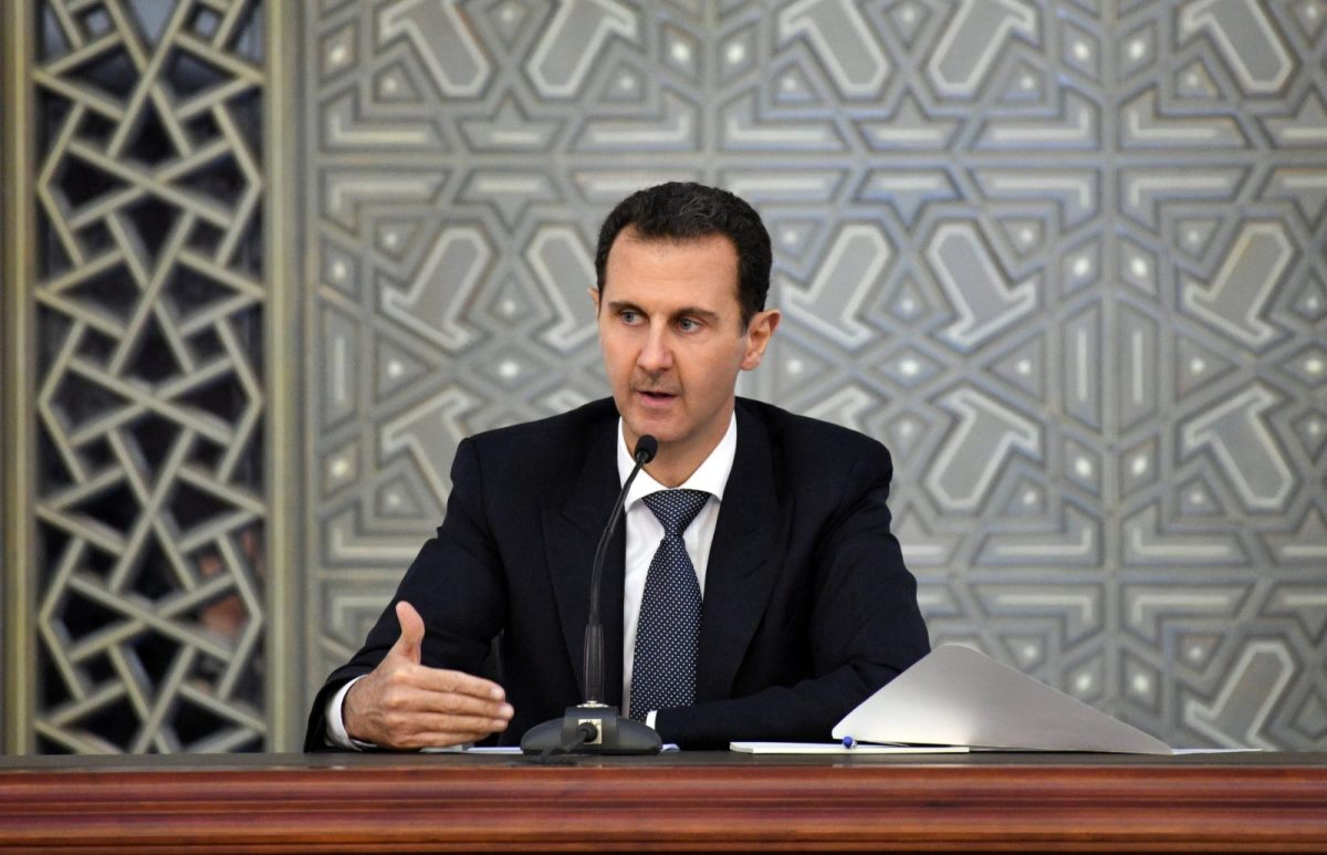 Syrian President Bashar al-Assad. Photo: Sana / Handout via Reuters