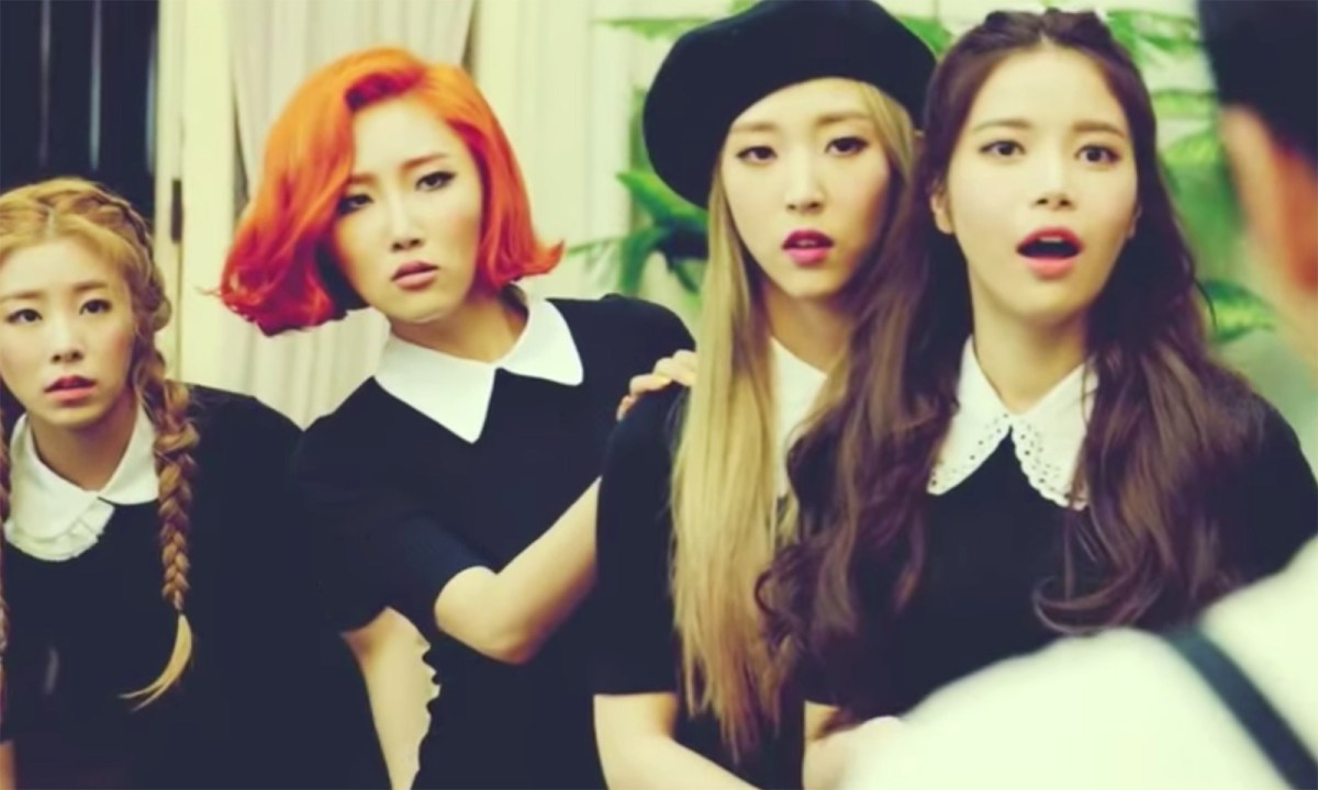 Mamamoo, a South Korean girl group. Photo: YouTube, Mamamoo