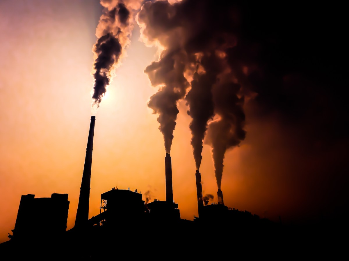 A coal fired electric generation plant in China. Photo: iStock/Getty Images