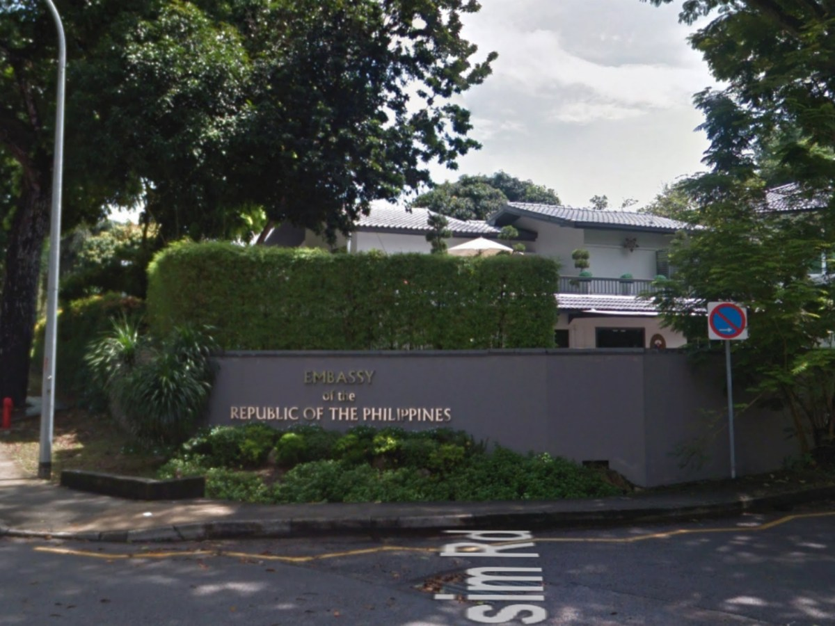 The Philippine Embassy in Singapore. Photo: Google Maps