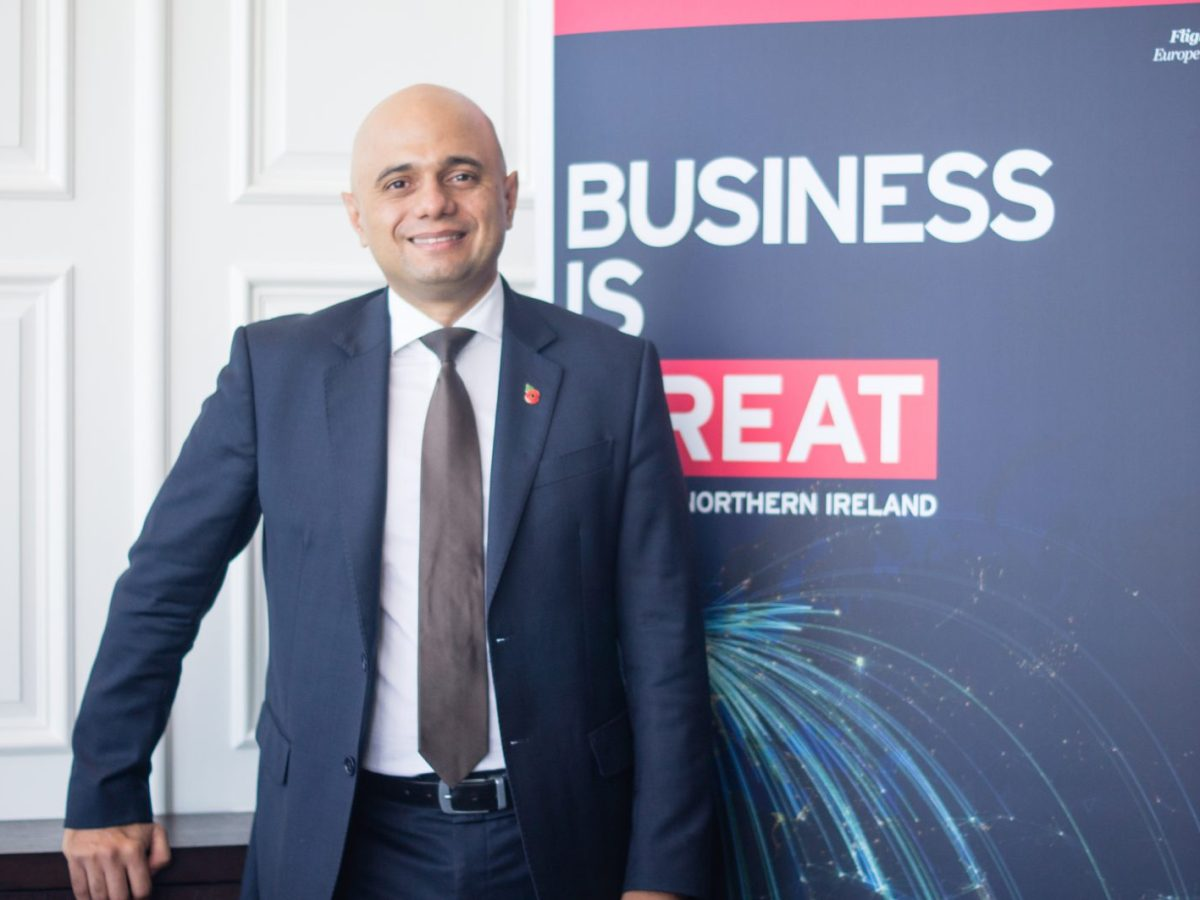 British Secretary of State for Communities and Local Government, Sajid Javid, on a visit to Hong Kong, on November 10, 2017. Photo: Asia Times / Lin Wanxia