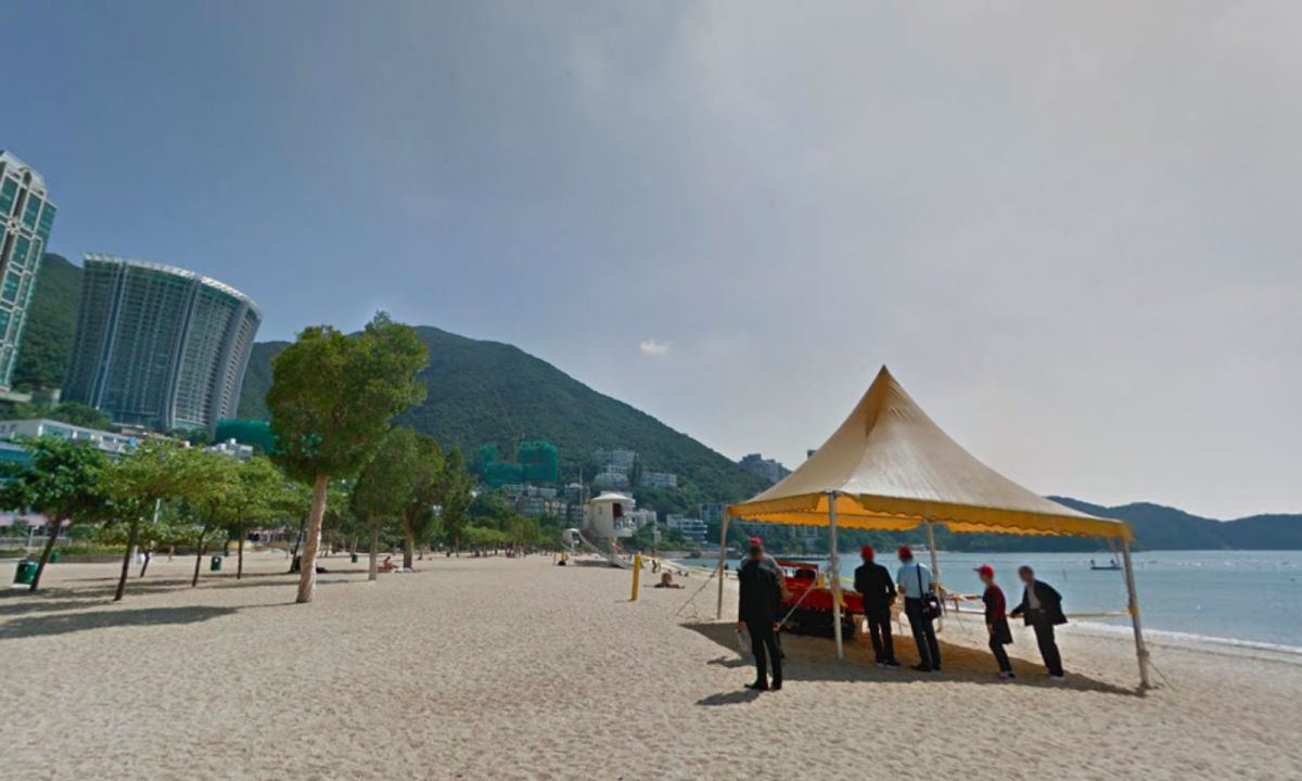 Repulse Bay on Hong Kong Island. Photo: Google Maps