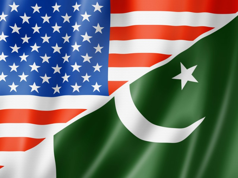 The US and Pakistani flags. Photo: iStock