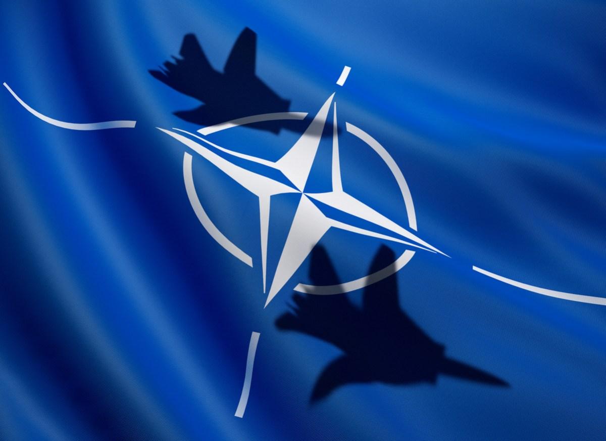 Nato flag. Photo: iStock