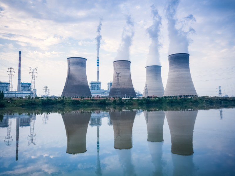 A coal-fired power plant in Jiangxi province, China. Photo: iStock