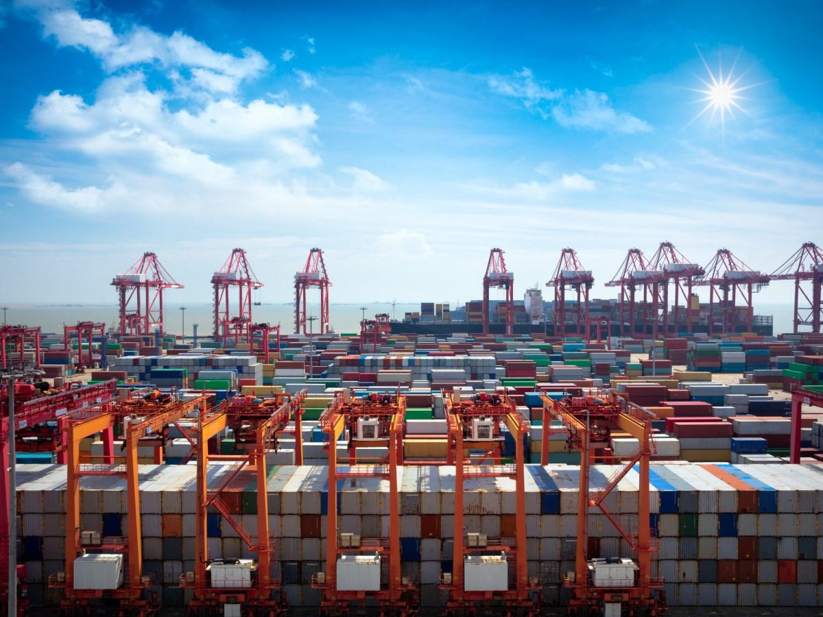 Shanghai Yangshan deepwater port. Photo: iStock