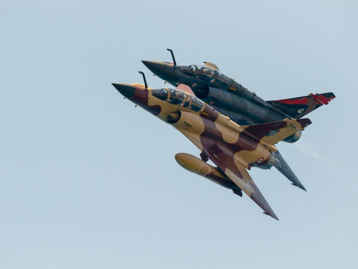 Dassault Mirage 2000 jet fighters. Photo: Getty Images