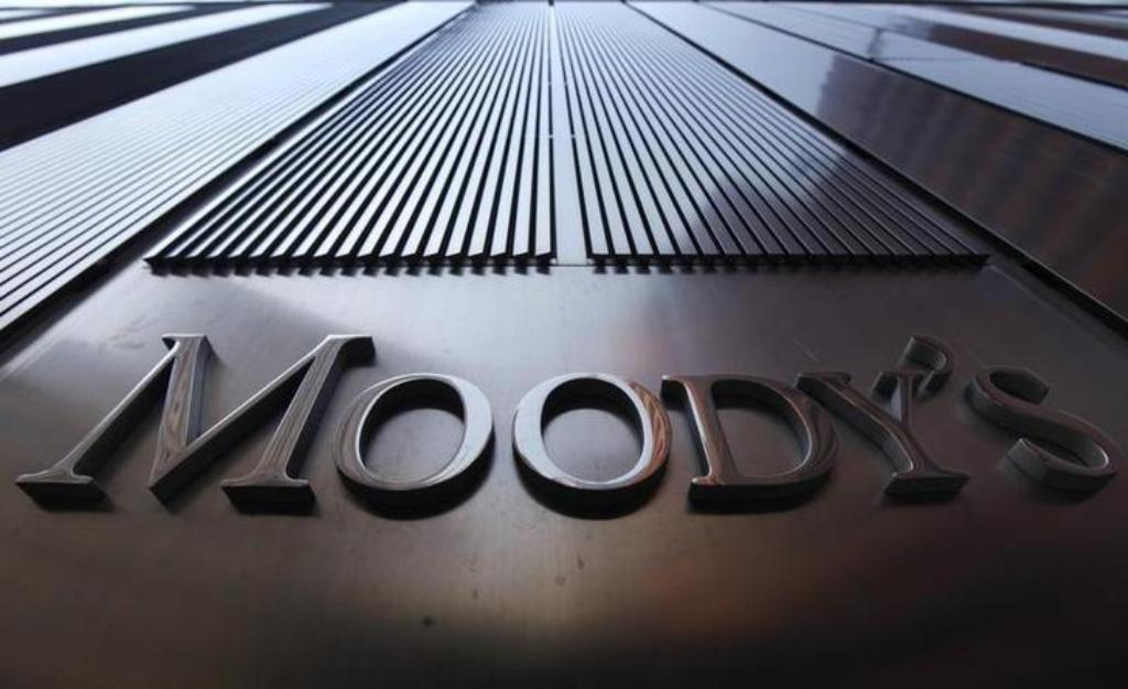 A Moody's sign in New York: Reuters