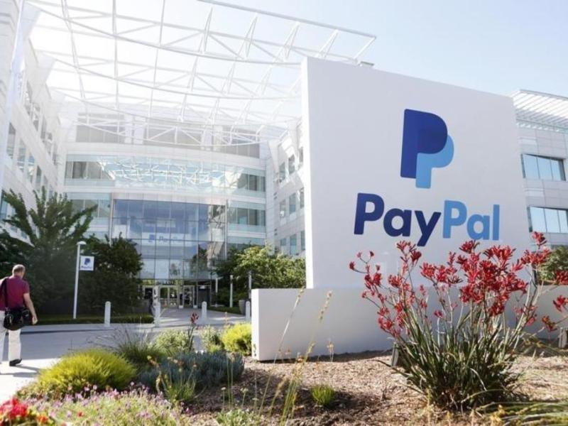 A PayPal sign is seen at an office building in San Jose, California: Reuters