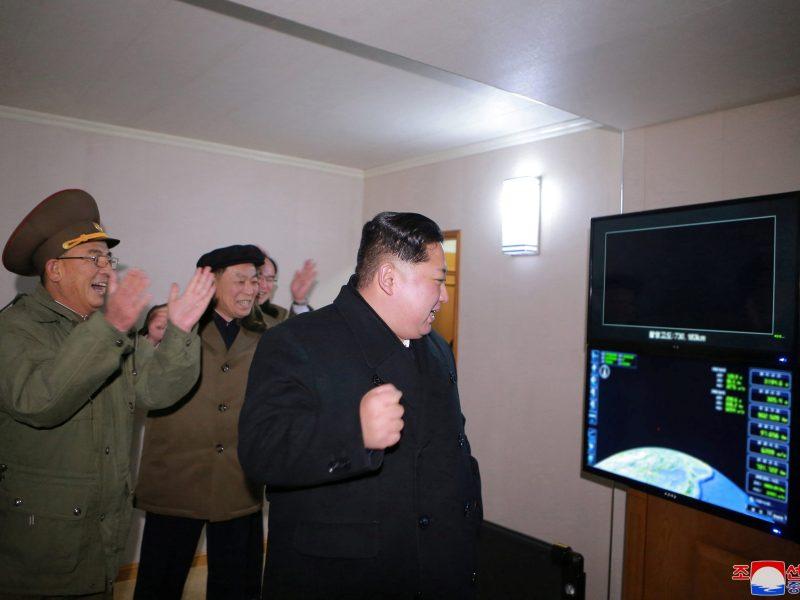 Photo: Reuters via KCNA