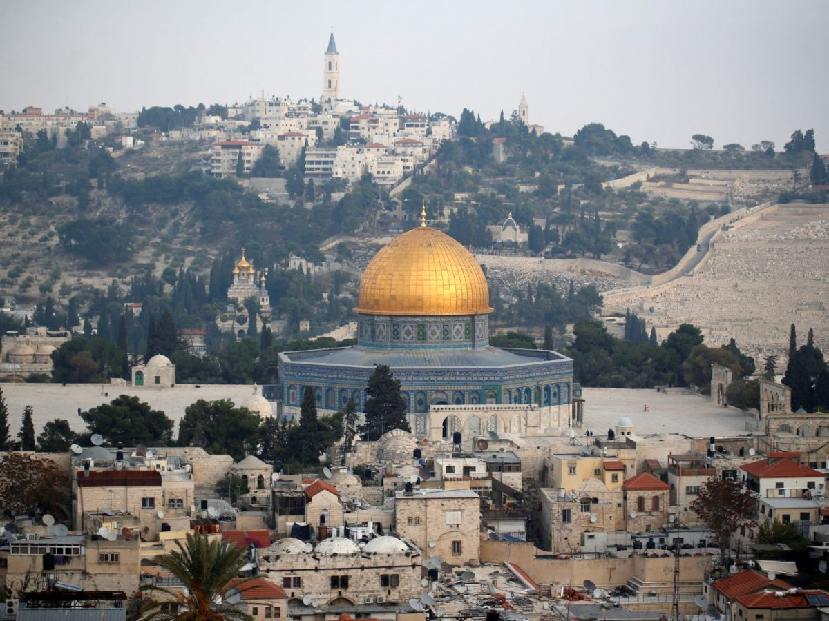 Jerusalem's Old City and the Dome of the Rock. Photo: Reuters / Ammar Awad