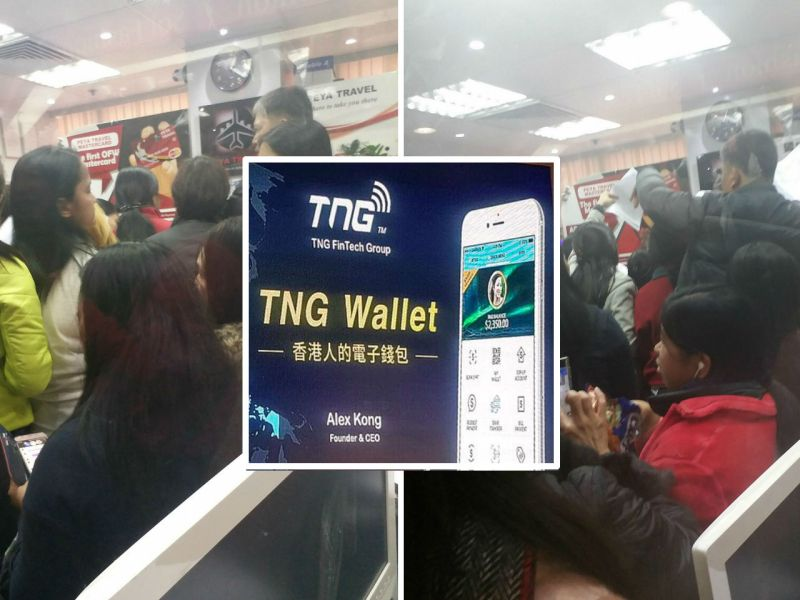 An ad for the mobile payment firm, which is offering to help Filipinos caught in the travel crisis. Photo: Irish Tadian Manabogan, Facebook, TNG Wallet