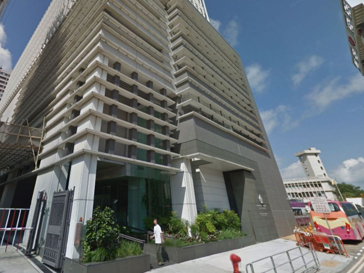 Central Police District Headquarters in Hong Kong. Photo: Google Maps
