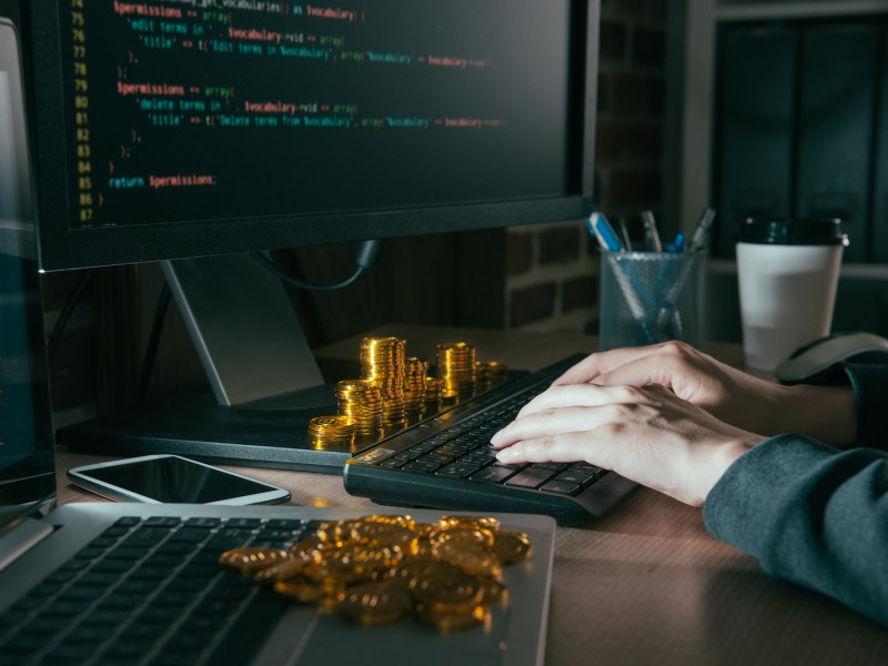 South Korean intelligence has reportedly blamed hackers in the North for theft of cryptocurrencies. Photo: iStock