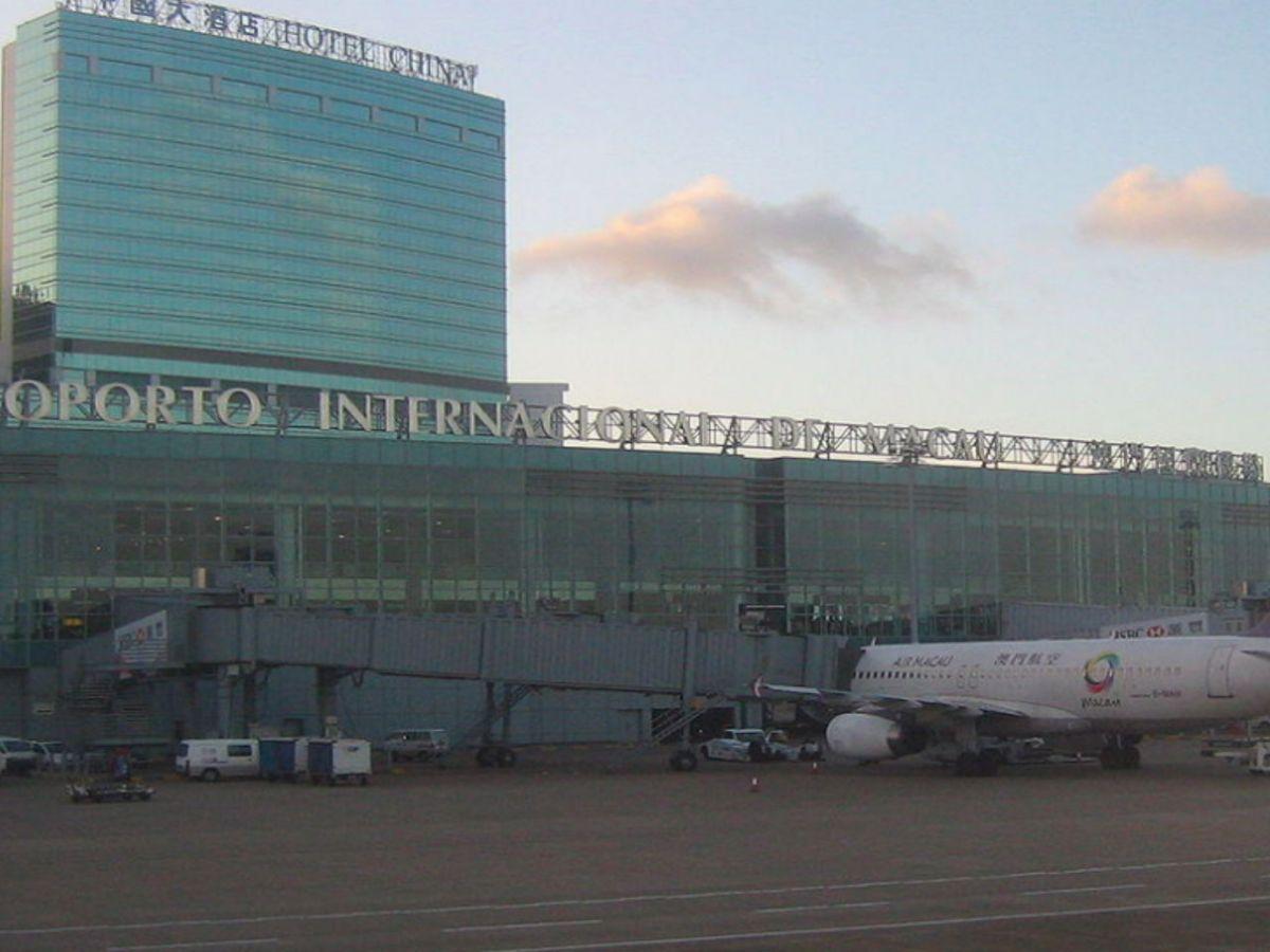 Macau International Airport Photo: Wikimedia Commons