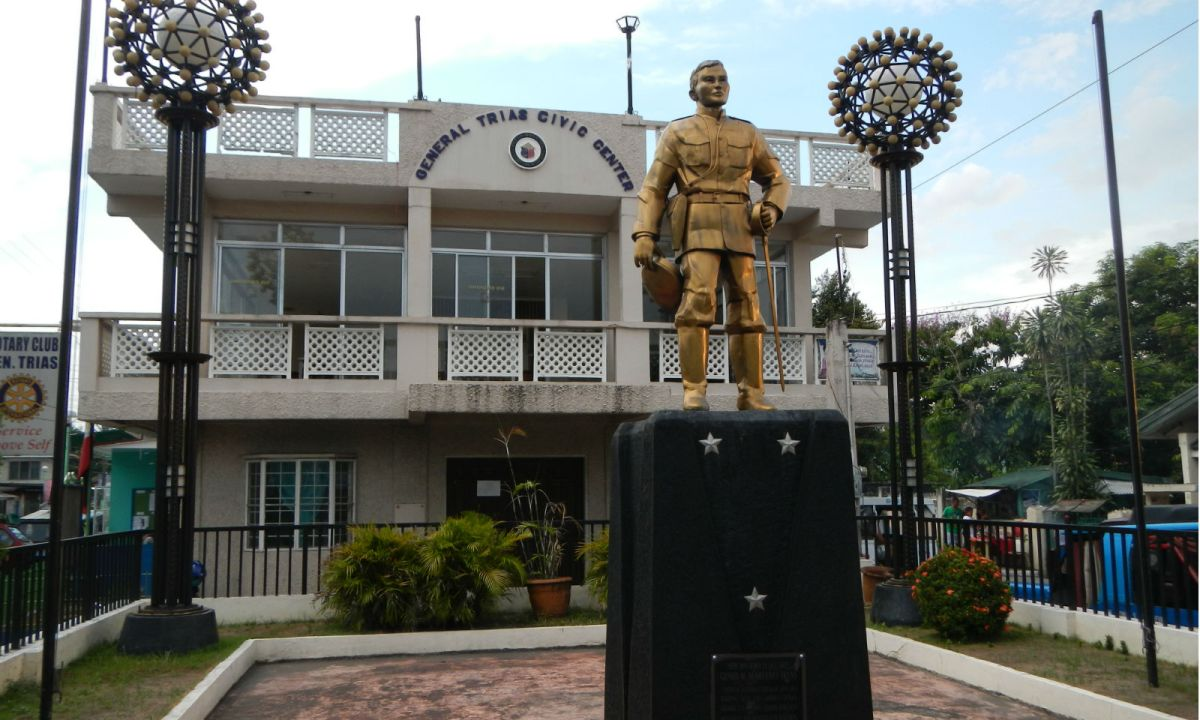 The Gen Mariano Trias Monument in Cavite, where the killings occurred. Photo: Wikimedia Commons, Ramon FVelasquez