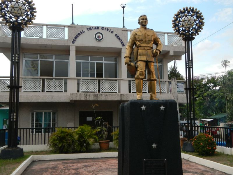 The Gen Mariano Trias Monument in Cavite, where the killings occurred. Photo: Wikimedia Commons, 	Ramon FVelasquez