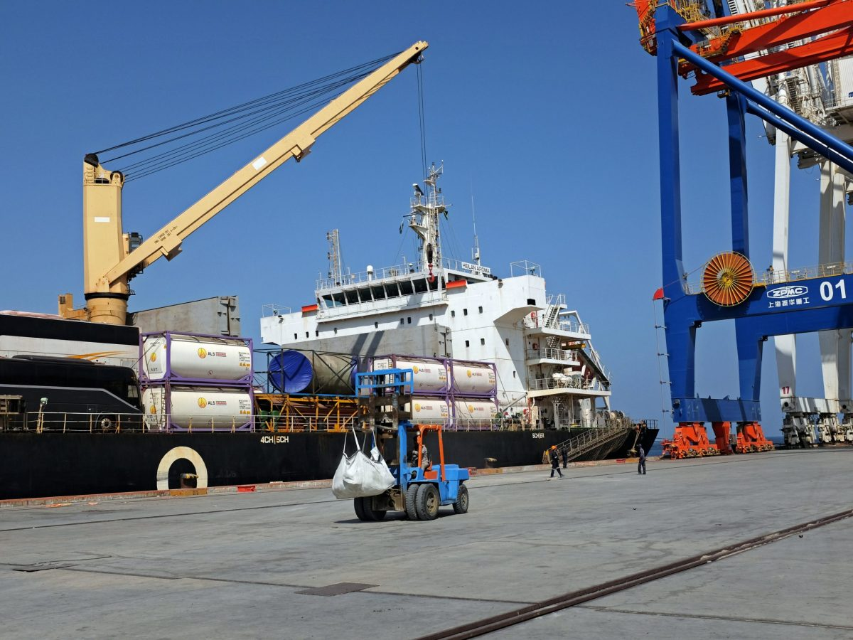Gwadar port in Baluchistan Pakistan, as seen in October 2017. Photo: Reuters