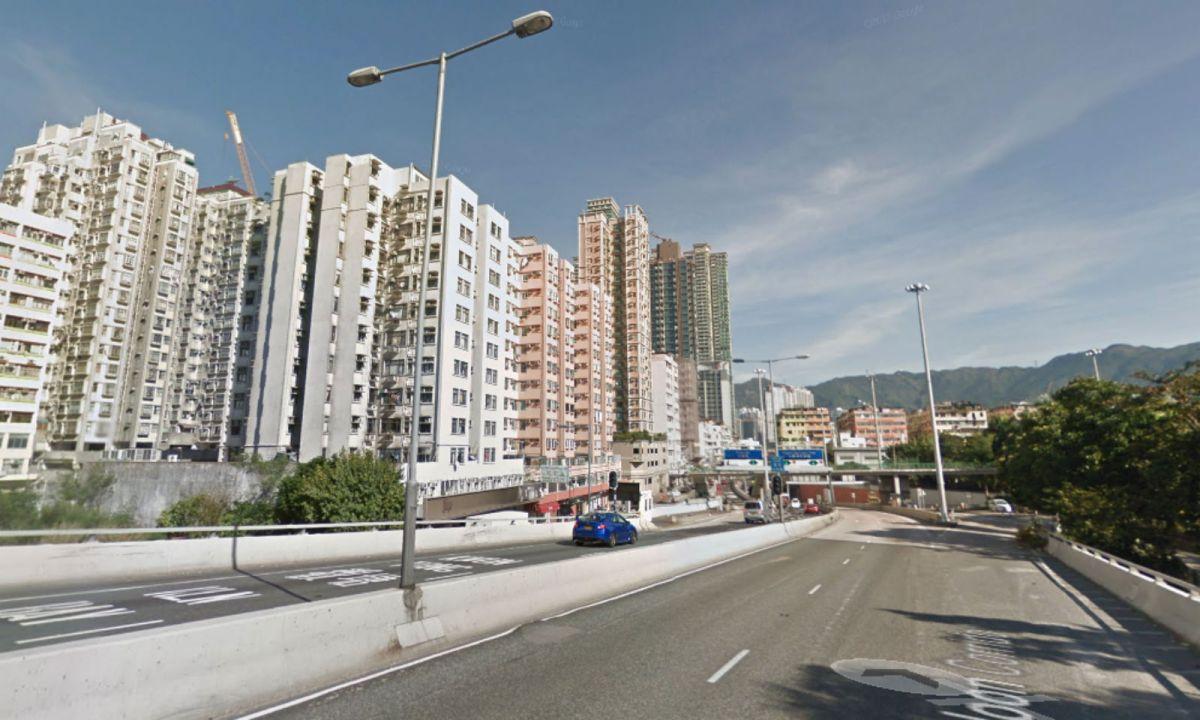 East Kowloon Corridor in Kowloon City, Hong Kong. Photo: Google Maps