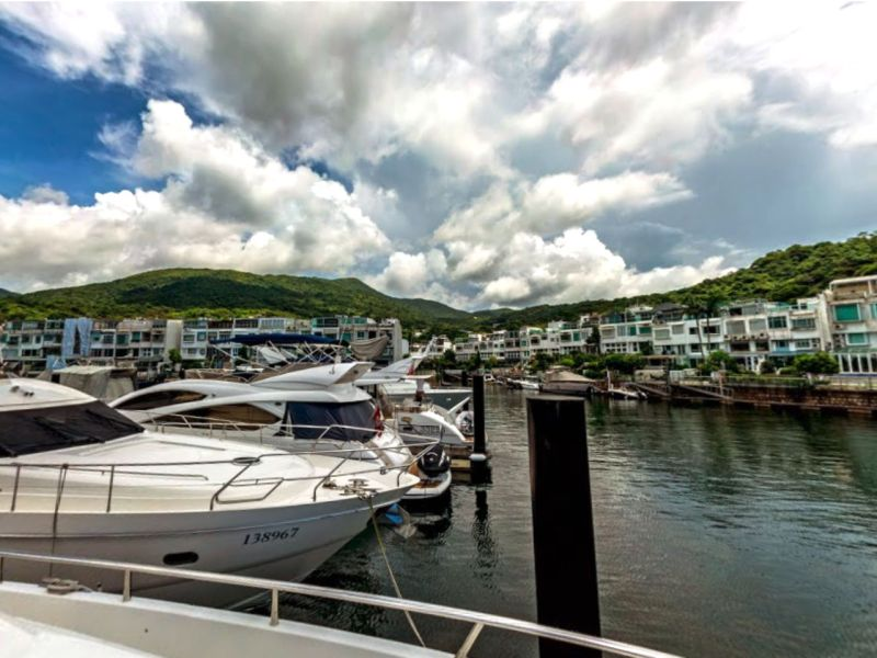 Marina Cove in Sai Kung in New Territories East. Photo: Google Maps