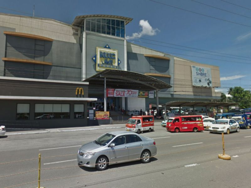 NCCC Mall in Davao City before the fire. Photo: Google Maps
