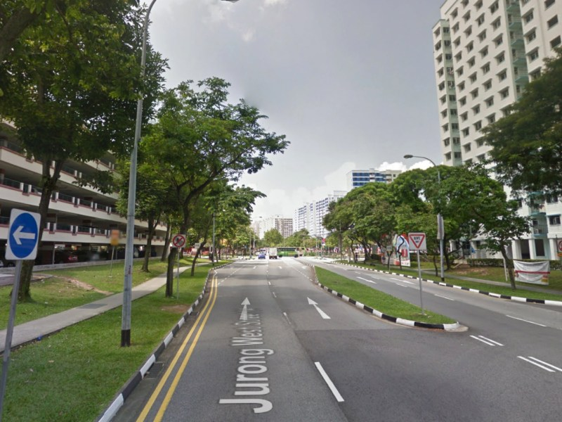 The HDB estate on Jurong West Street 64, Singapore. Photo: Google Maps