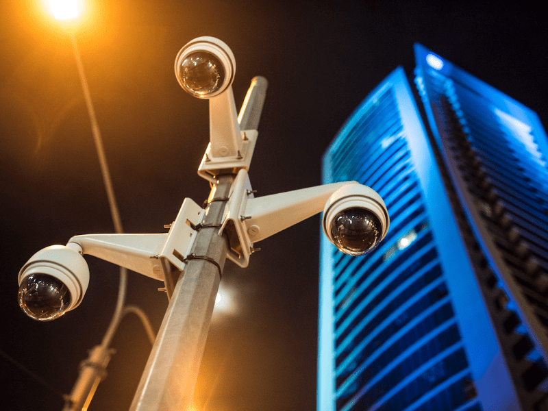 Surveillance cameras. Photo: Getty Images