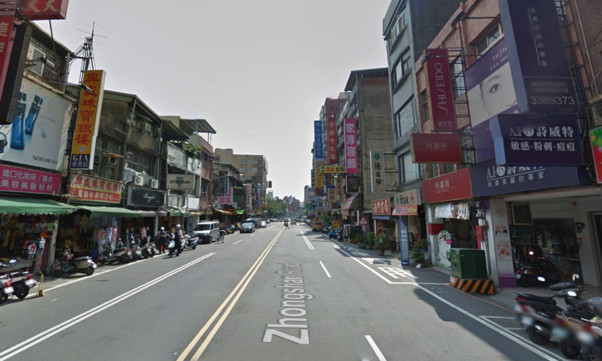 Nanmen Market, Taoyuan, Taiwan. Photo: Google Maps