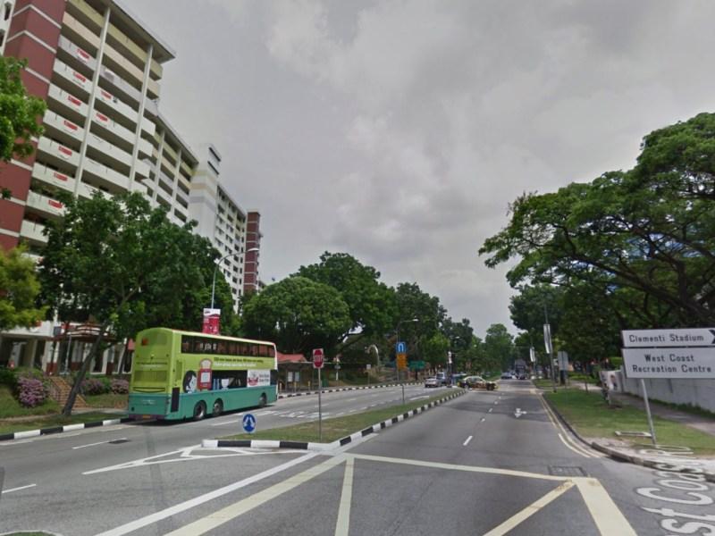 HDB estates on West Coast Road, Singapore. Photo: Google Maps