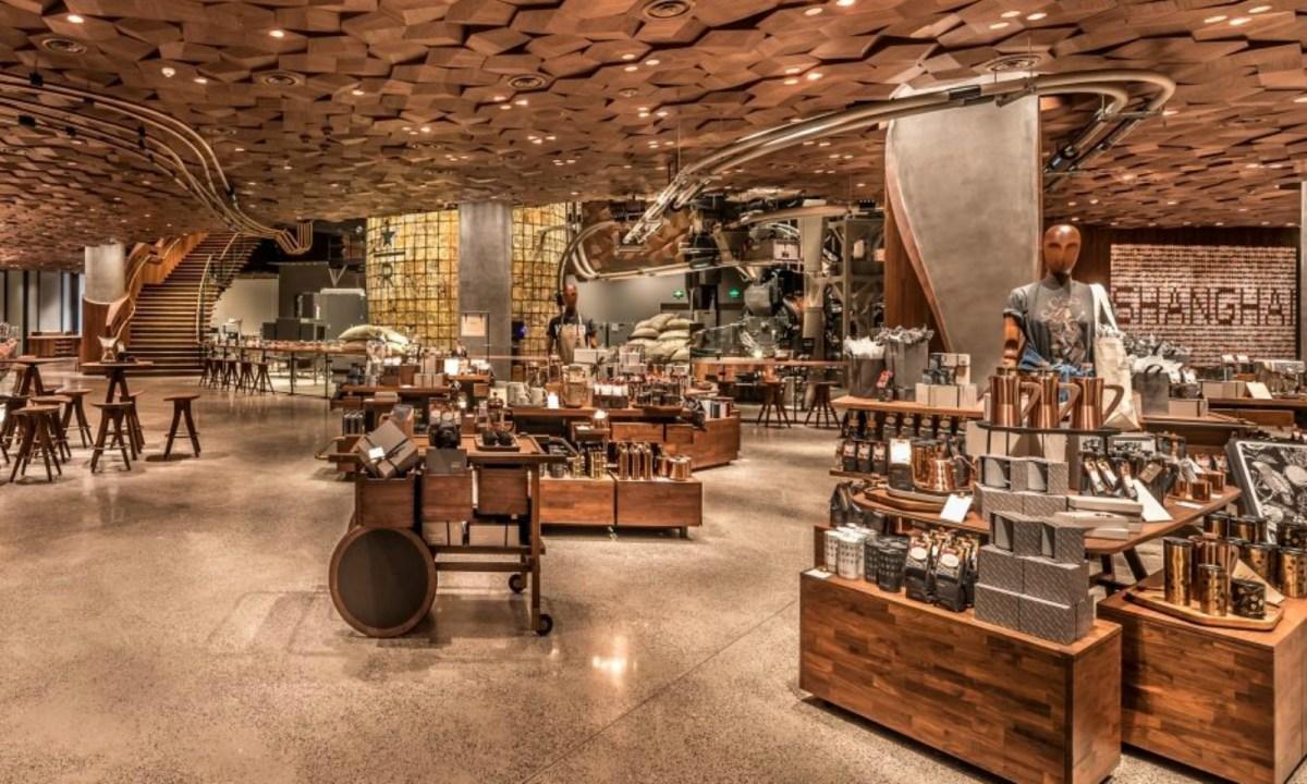 The world's largest Starbucks has just opened in Shanghai. Photo: Starbucks.com