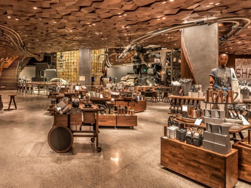 The world's largest Starbucks has just opened in Shanghai. Photo: Starbucks.com
