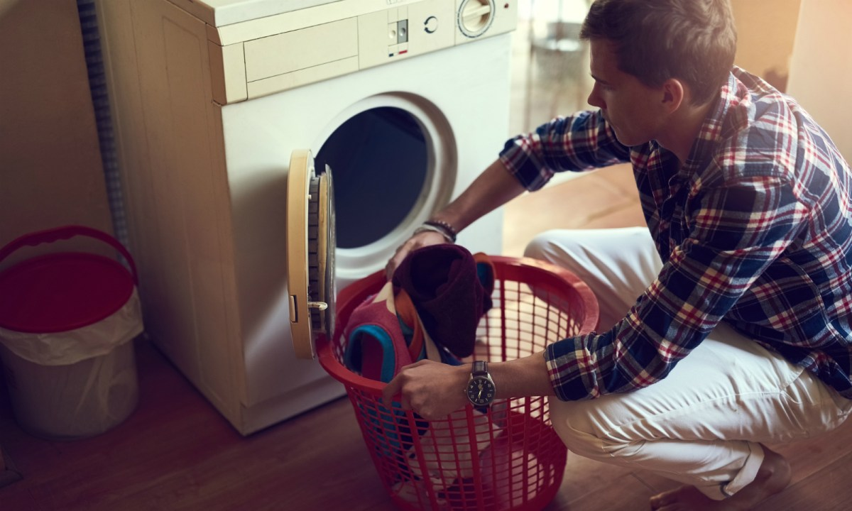 Household chores don't seem so simple when you have to do them yourself. Photo: iStock