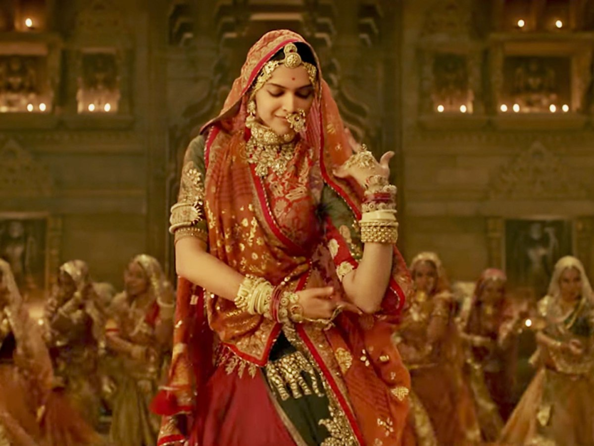 Deepika Padukone plays Padmavati, the titular role  in Sanjay Leela Bhansali's film.
