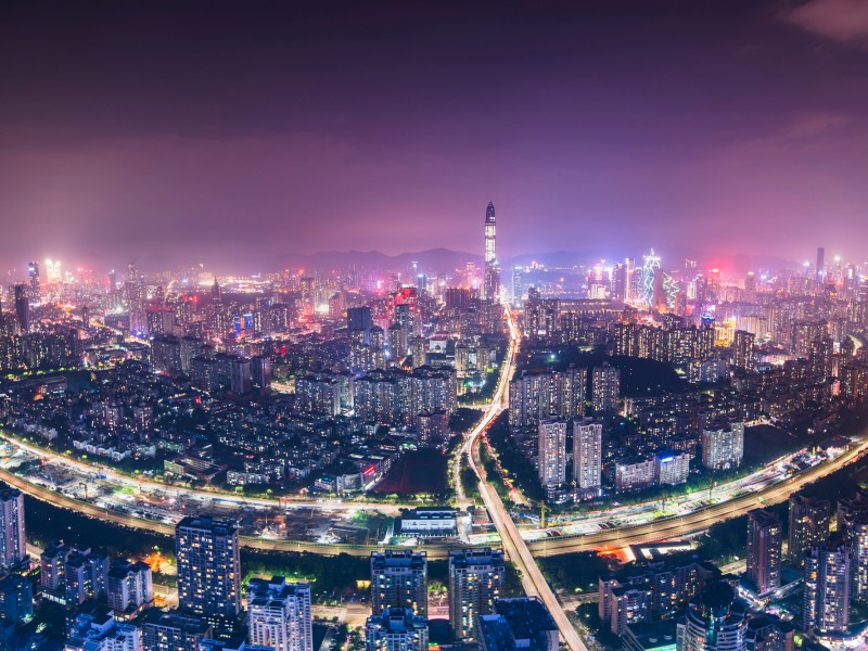 Shenzhen, China. Photo: iStock