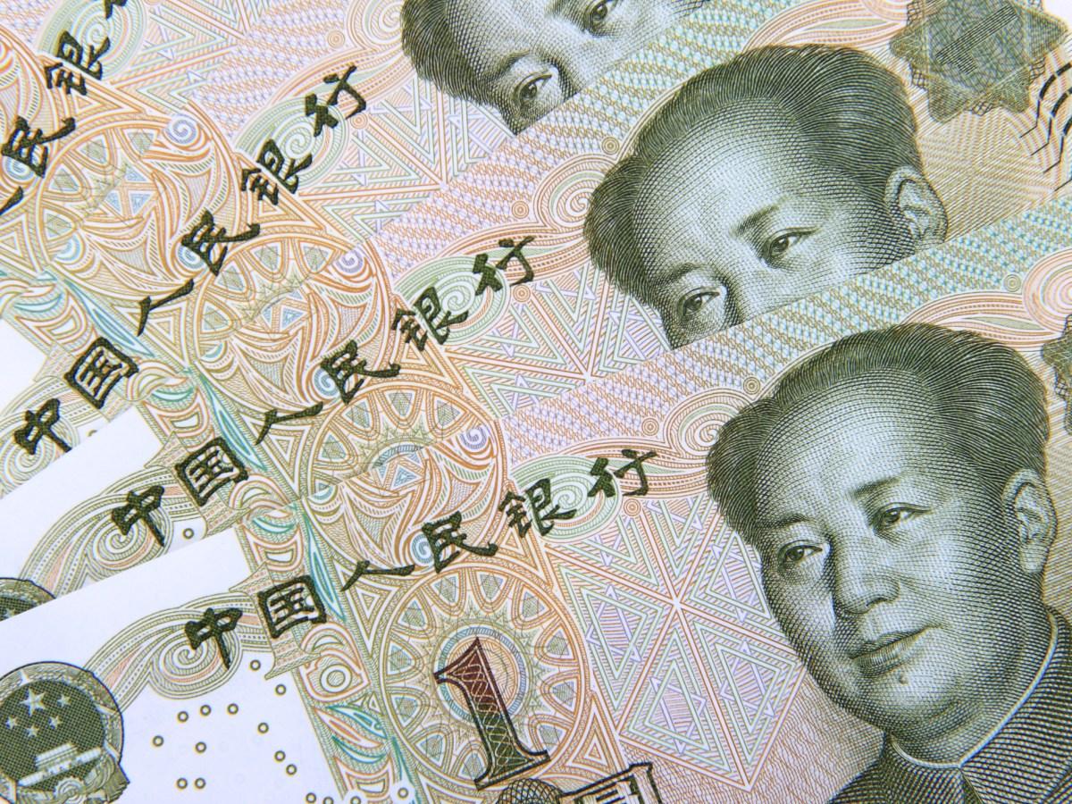One yuan. Photo: iStock
