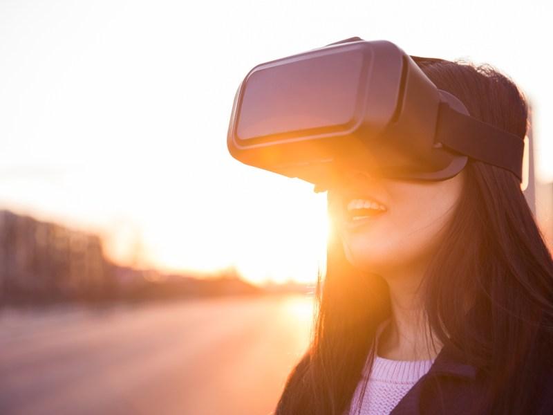 Virtual reality headset. Photo: iStock