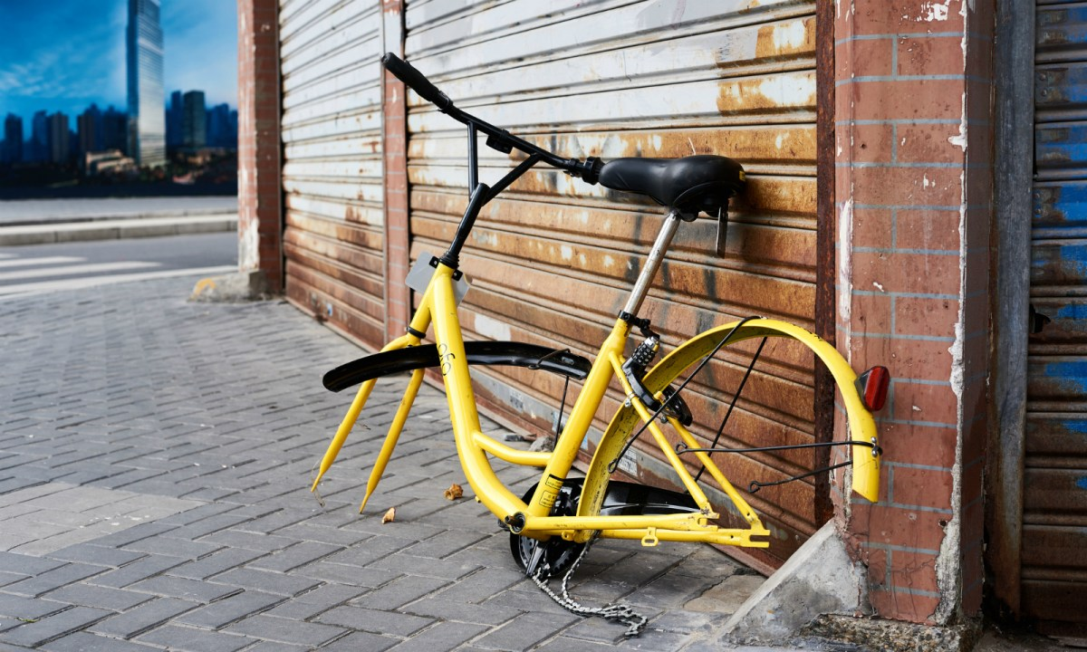 The wheels have come off the bike-sharing craze. Photo: iStock