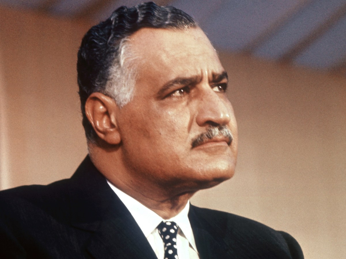 Gamal Abdel Nasser (1918-1970). Photo: AFP