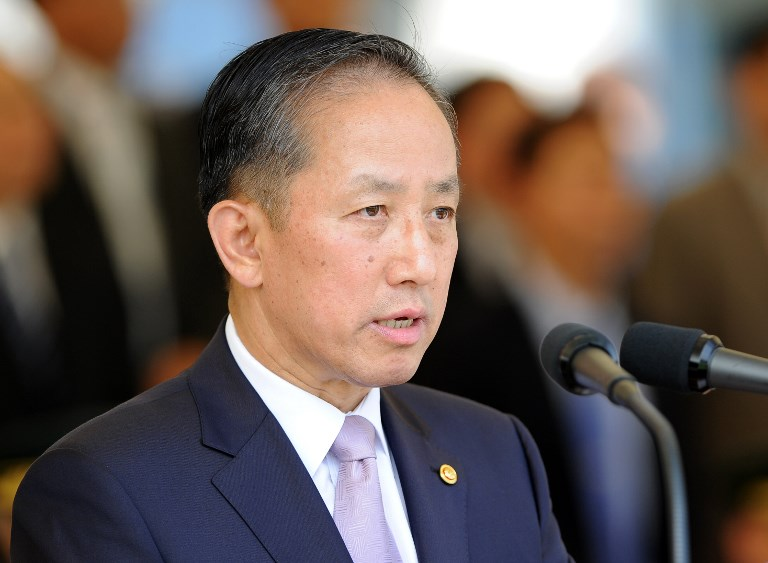 Former South Korean Defence Minister Kim Tae-Young. Photo: AFP / Kim Jae-hwan
