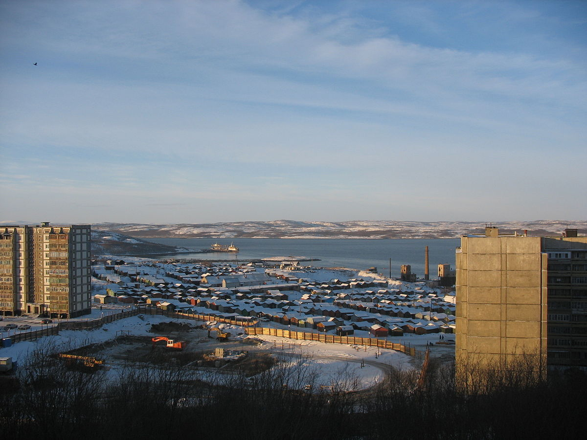 View of Barents Sea coast near Olenya Bay. Photo: Wikipedia Commons