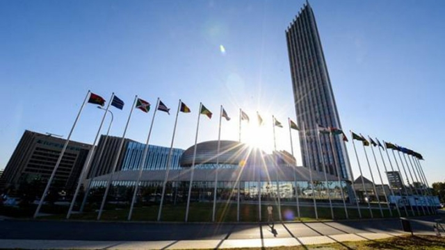 A file photo of the China-constructed African Union headquarters in Addis Ababa, Ethiopia. Photo: Xinhua