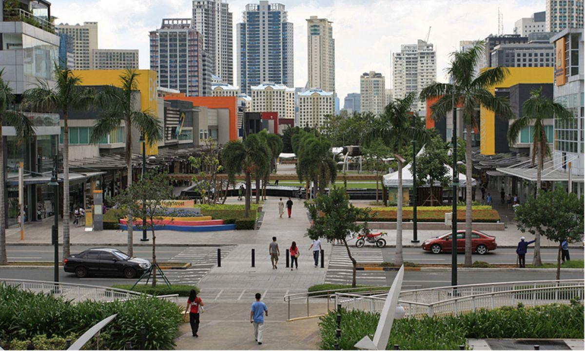 Bonifacio Global City in Taguig, Philippines. Photo: Wikimedia Commons, alveo land