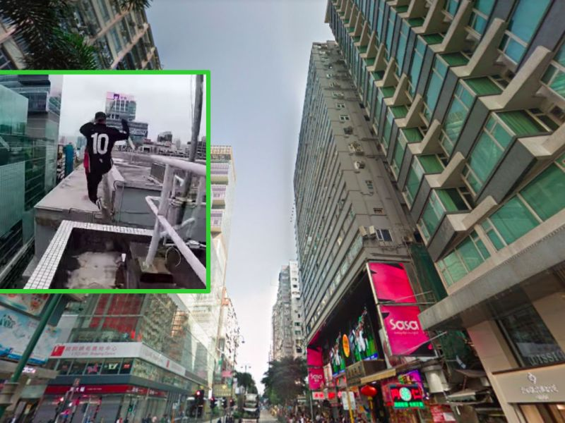Nathan Road in Tsim Sha Tsui, Kowloon. Photos: Google Maps, YouTube, Storror
