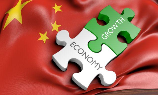 中国经济开始变得像一块巨大的拼图  相片:iStock